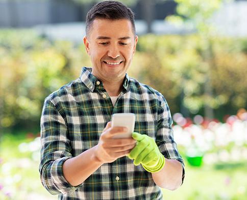 Mobile Apps für den Galabau - Zeiterfassung, Fotos, Berichte